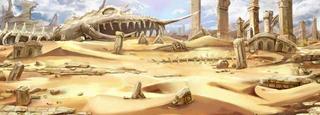 ナイミブ砂漠遺跡